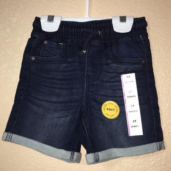 c29ee0afe Cat & Jack Bottoms | Cat Jack Toddler Boy Denim Pull On Shorts ...